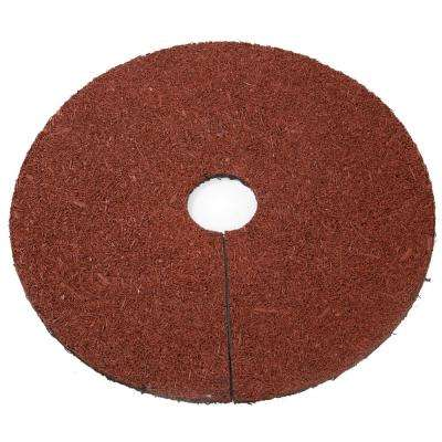 24 in. Reversible Mulch Ring Tree Protector Mat