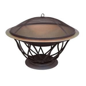 Maison 30 in. Copper Finish Bowl Fire Pit