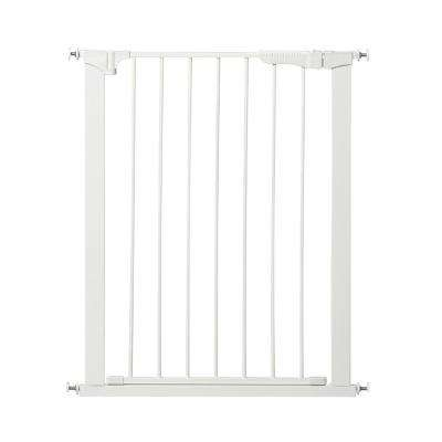 36 in. H Pressure Mount Gate Tall and Wide Auto Close Gateway in White