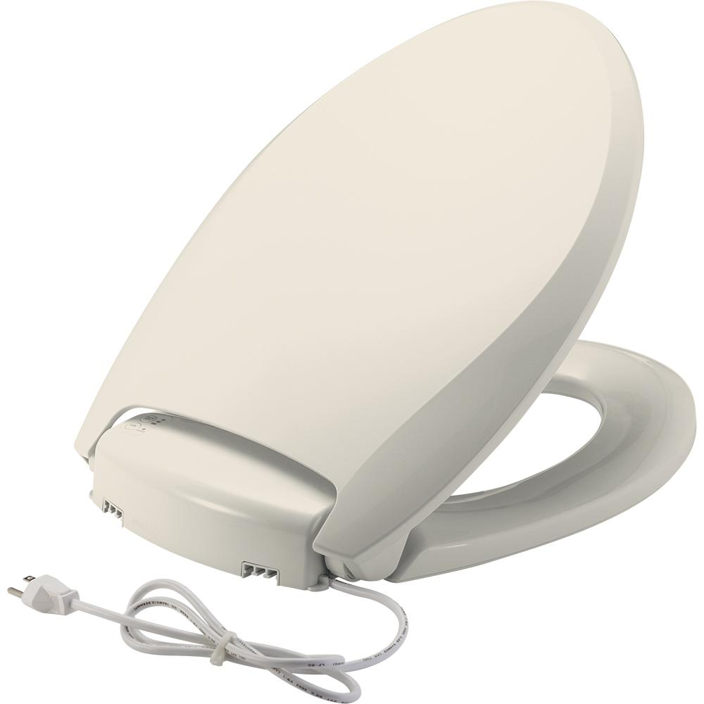 Church Radiance Heated Elongated Closed Front Toilet Seat...