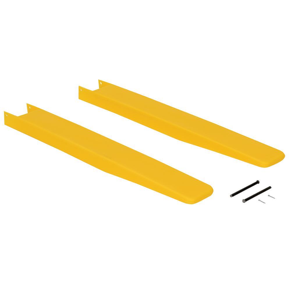 4 in. x 36 in. Fork Blade Protectors Polyethylene