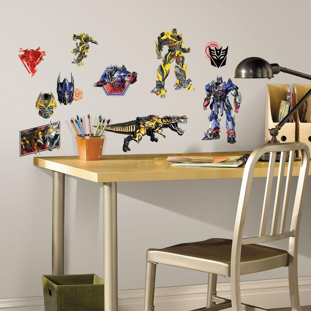 RoomMates 5 in. x 11.5 in. Transformers Age of Extinction...