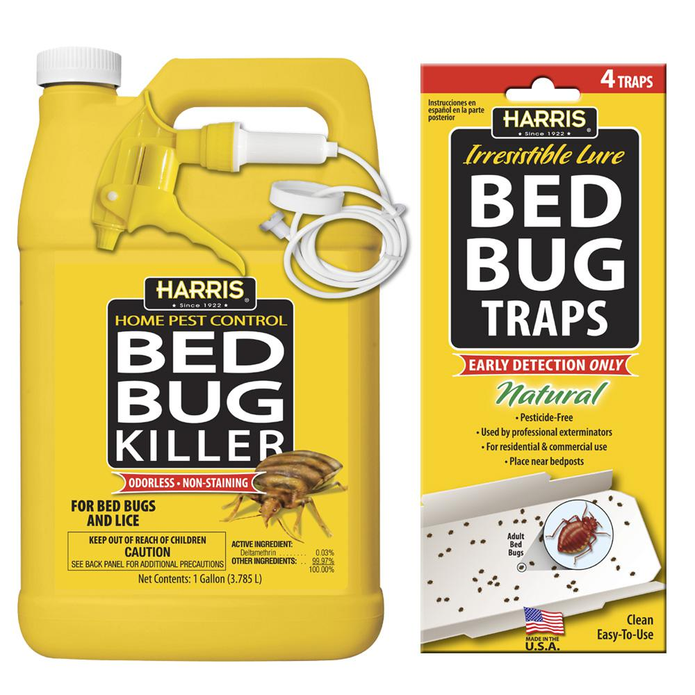 Harris 1 gal Bed Bug Killer and Bed Bug Trap Value PackHBB128VP