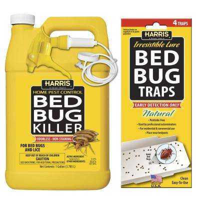 1 gal. Bed Bug Killer and Bed Bug Trap Value Pack