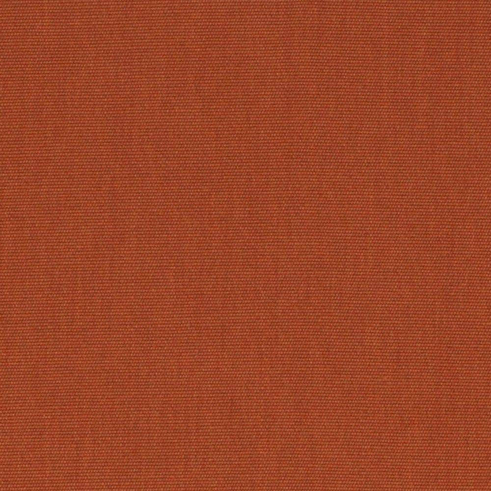 Hampton Bay Spring Haven Sunbrella Canvas Rust Patio Dining Chair Slipcover  (2 Pack)
