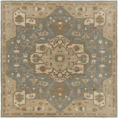 Demetrios Moss 10 Ft X Indoor Square Area Rug