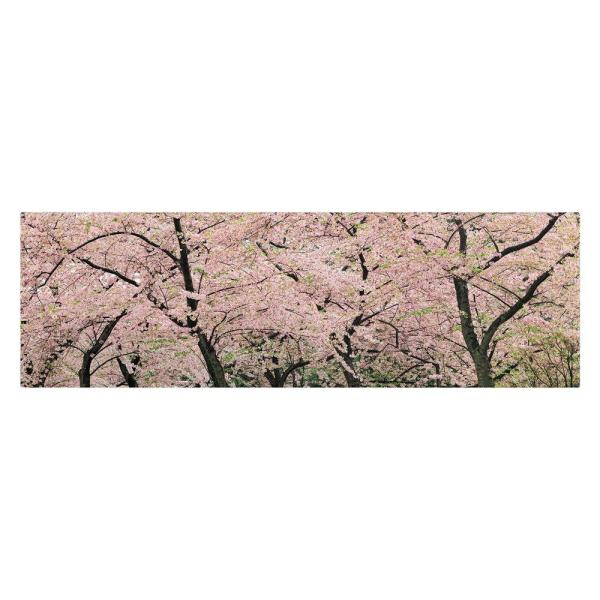 12 in. x 32 in. Spring Time Impressions Canvas Art