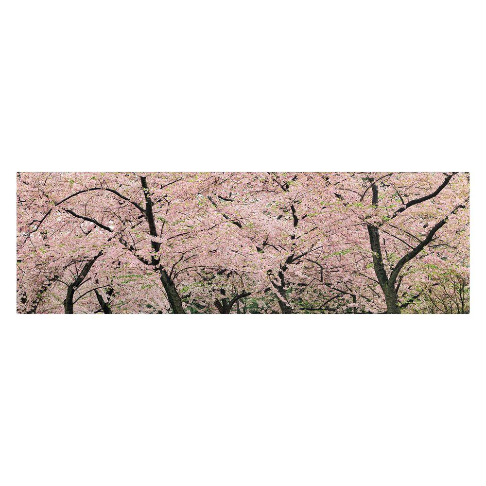 6 in. x 19 in. Spring Time Impressions Canvas Art