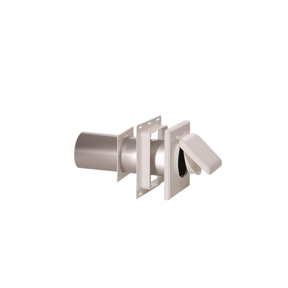 J Block or Wide-Mount Dual Door Wall Vent in White-NPJW - The Home Depot  sc 1 st  The Home Depot & No Pest Vent 4 in. J Block or Wide-Mount Dual Door Wall Vent in ...