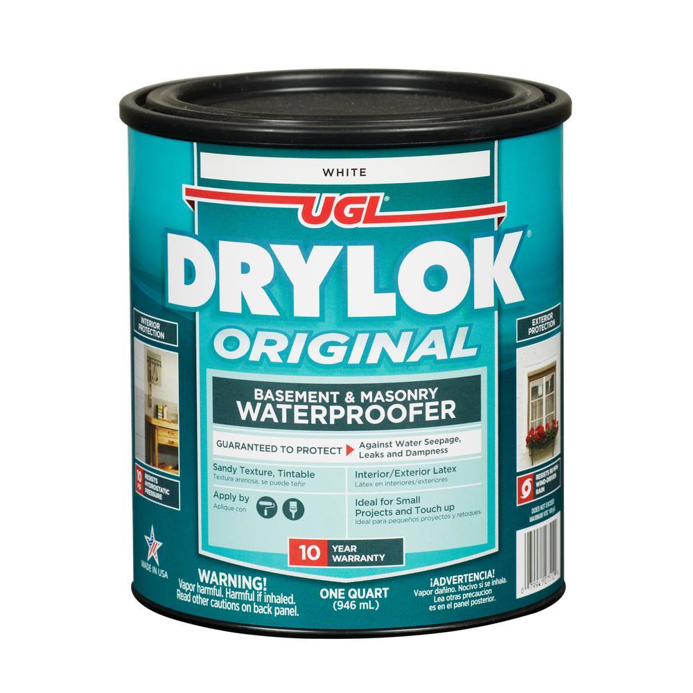 1 qt. White Latex Waterproofer (2-Pack)