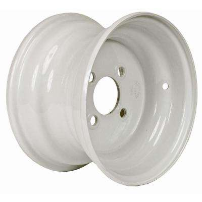 10x6 4-Hole 10 in. Steel Trailer Wheel/Rim