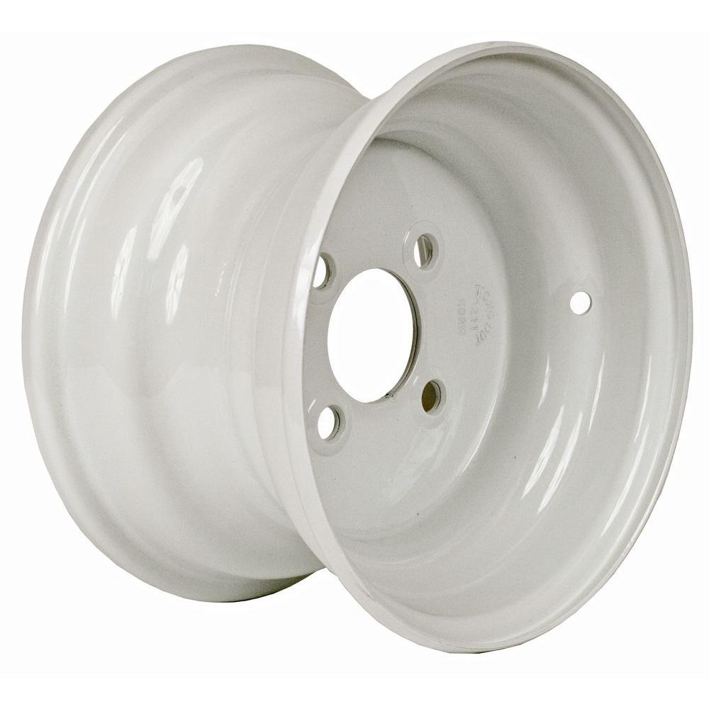 10x6 4-Hole 10 in. Steel Trailer Wheel/Rim