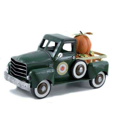 Green Harvest Pumpkin Truck