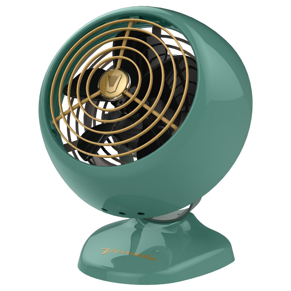 Vfan Mini Clic Personal Vintage Air Circulator Fan Green