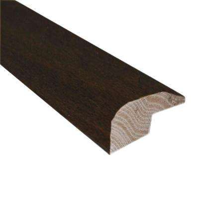 Maple Chocolate 0.88 in. Thick x 2 in. Wide x 78 in. Length Hardwood Carpet Reducer/Baby Threshold Molding