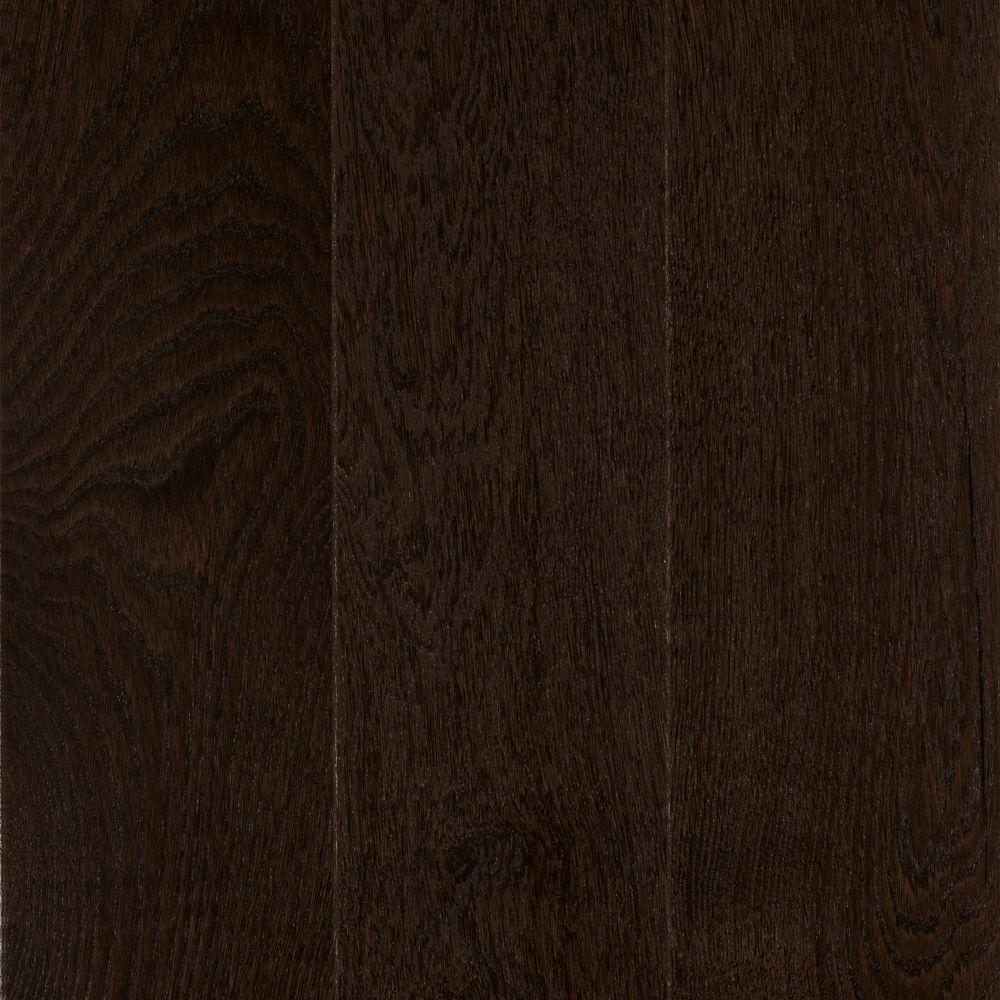 Take Home Sample - Elegant Home Cappuccino Oak Engineered Hardwood Flooring - 5 in. x 7 in.