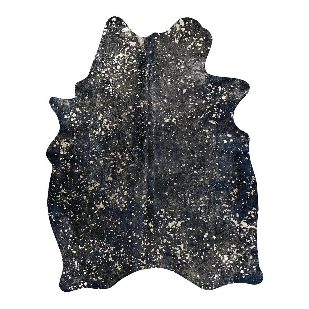 Chalet Moon Struck Black 7 ft. x 7 ft. Area Rug