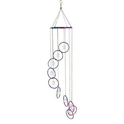 Glass - Metallic - Wind Chimes - Wind Catchers - The Home Depot