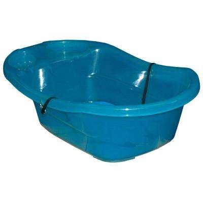 30 in. L x 18 in. W x 9 in. H Ocean Blue Pup-Tub