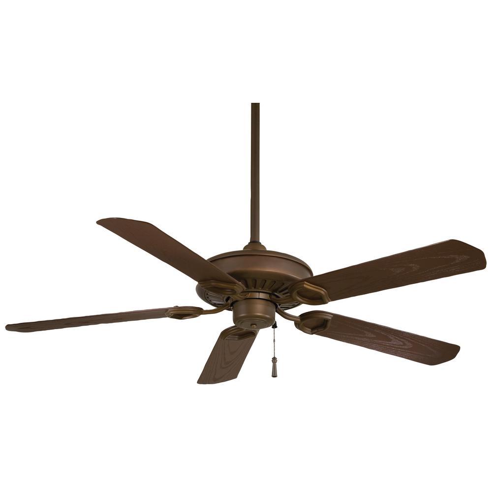 Sundowner 54 in. Indoor/Outdoor Oil Rubbed Bronze Ceiling Fan