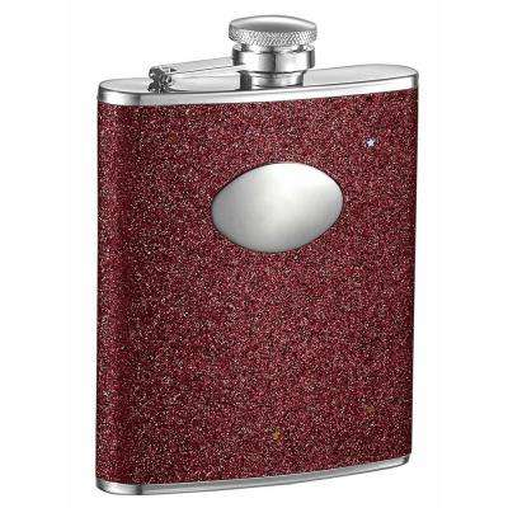 Carina X Red Glitter Liquor Flask