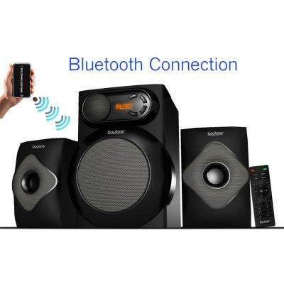 BT-220 2.1 Wireless Bluetooth Speaker System