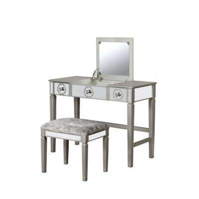 Everley Silver Vanity Set
