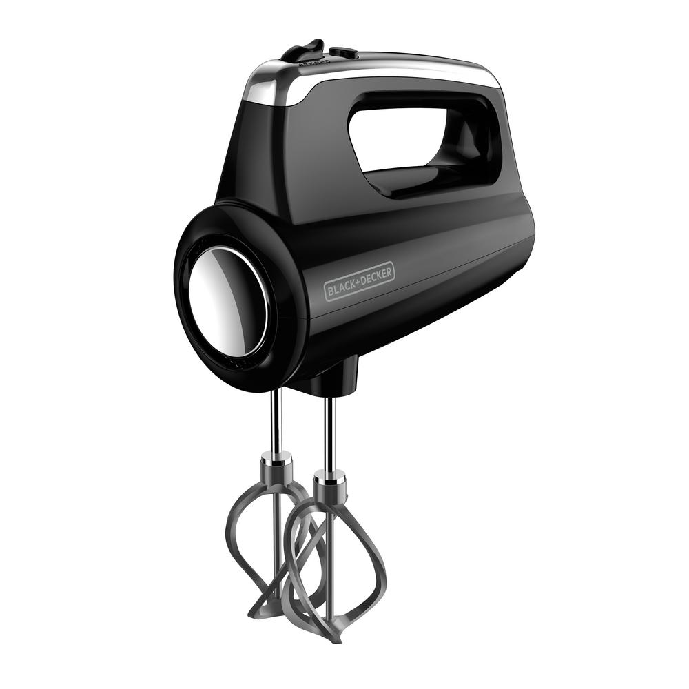 Black & Decker™ Helix Performance Premium Hand Mixer in Black