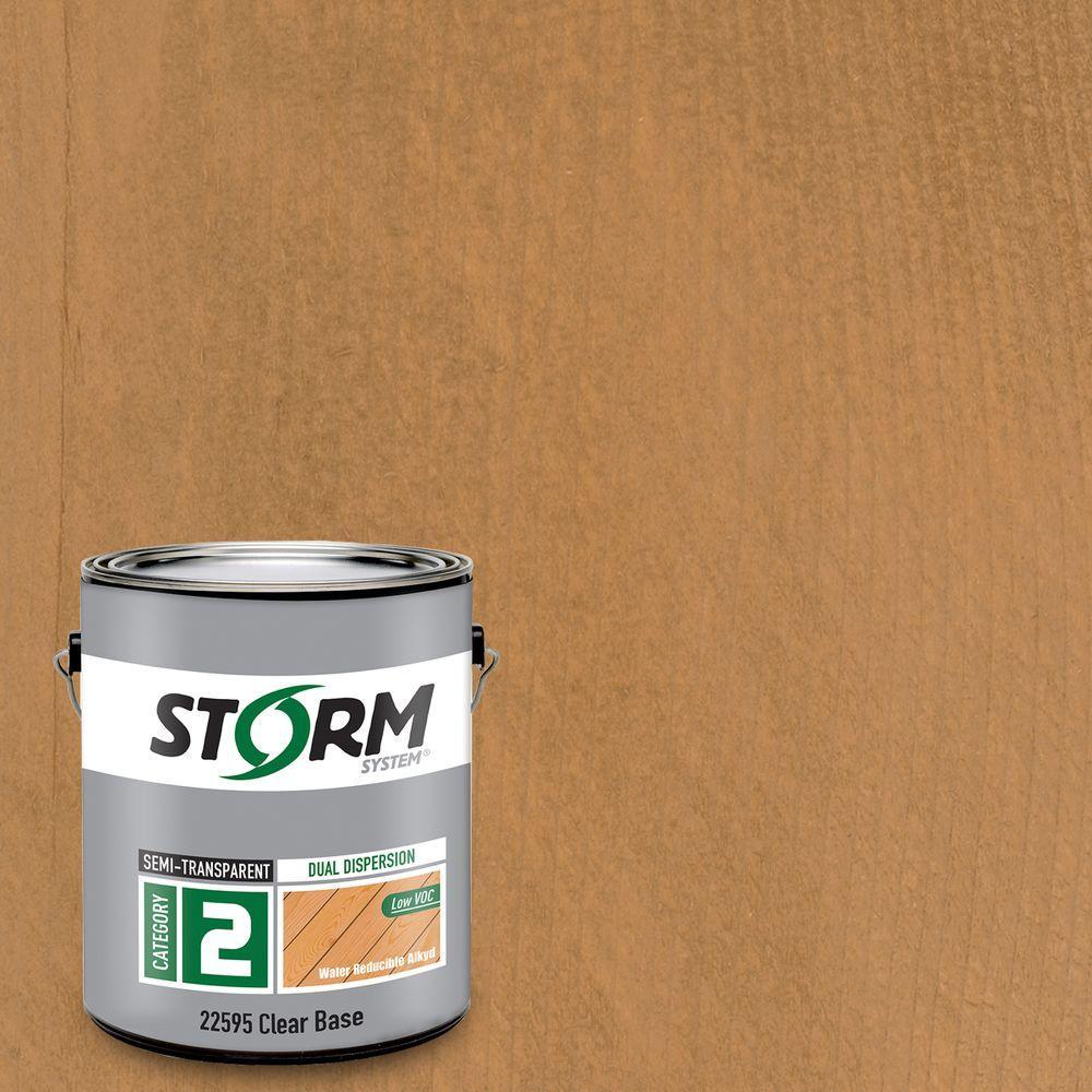 1 gal. Beneath the Bark Exterior Semi-Transparent Dual Dispersion Wood Finish
