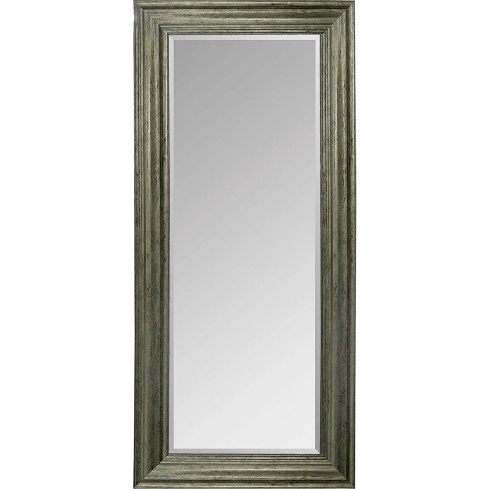 Filament Design Luna 75 in. x 35.5 in. Hand Carved Framed Mirror
