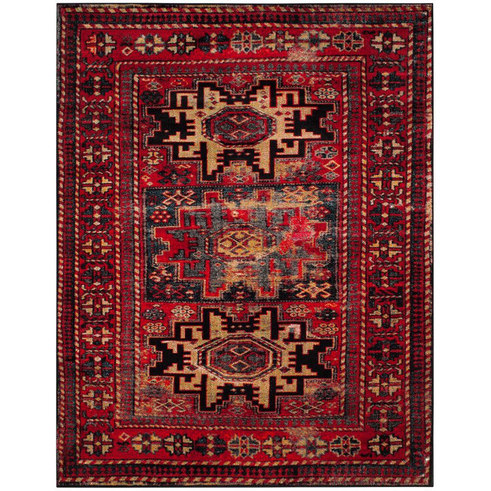 Safavieh Vintage Hamadan Red Multi 8 Ft X 10 Area Rug 4