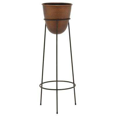 39 in. Metal Planter Stand