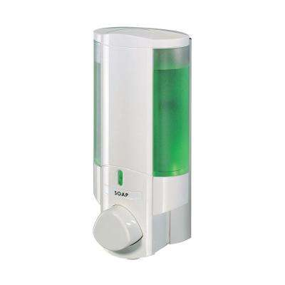 Aviva Single Dispenser in White