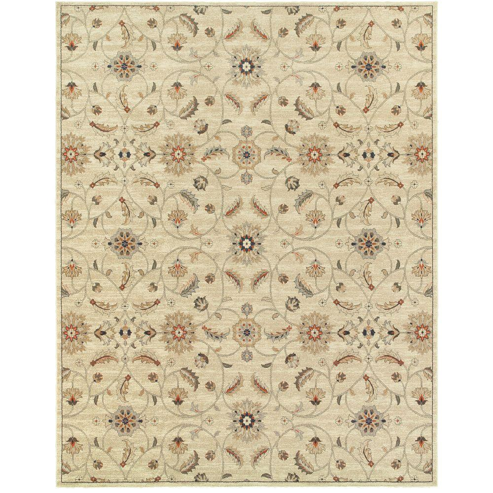 Home decorators collection isabella ivory 5 ft 3 in x 7 for Home decorators echelon rug
