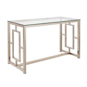 Coaster Cairns Sofa Table With Gl