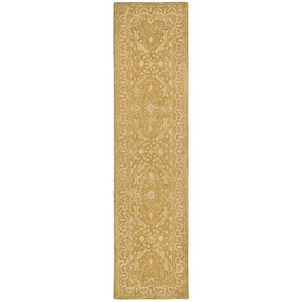 Silk Road Ivory 2 ft. 6 in. x 10 ft. Rug