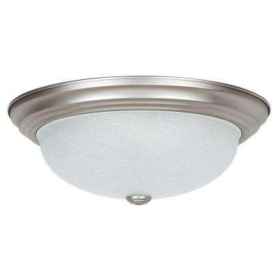 Bohanon 3-Light Satin Nickel Flush Mount