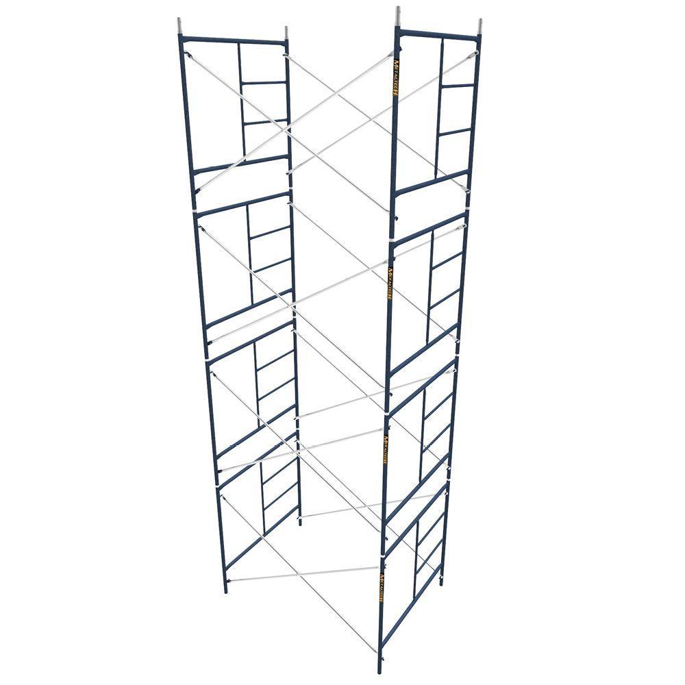 MetalTech Saferstack 5 ft. x 7 ft. x 5 ft. Mason Scaffold (Set of 4) by MetalTech