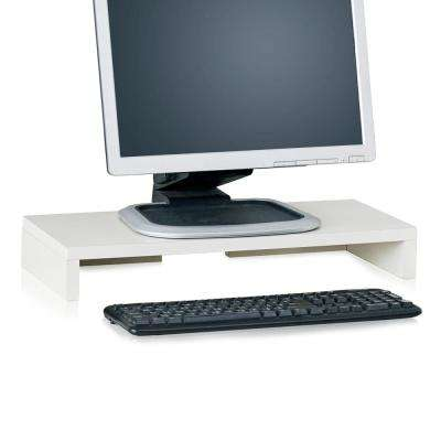 zBoard Eco Computer Monitor Stand in White