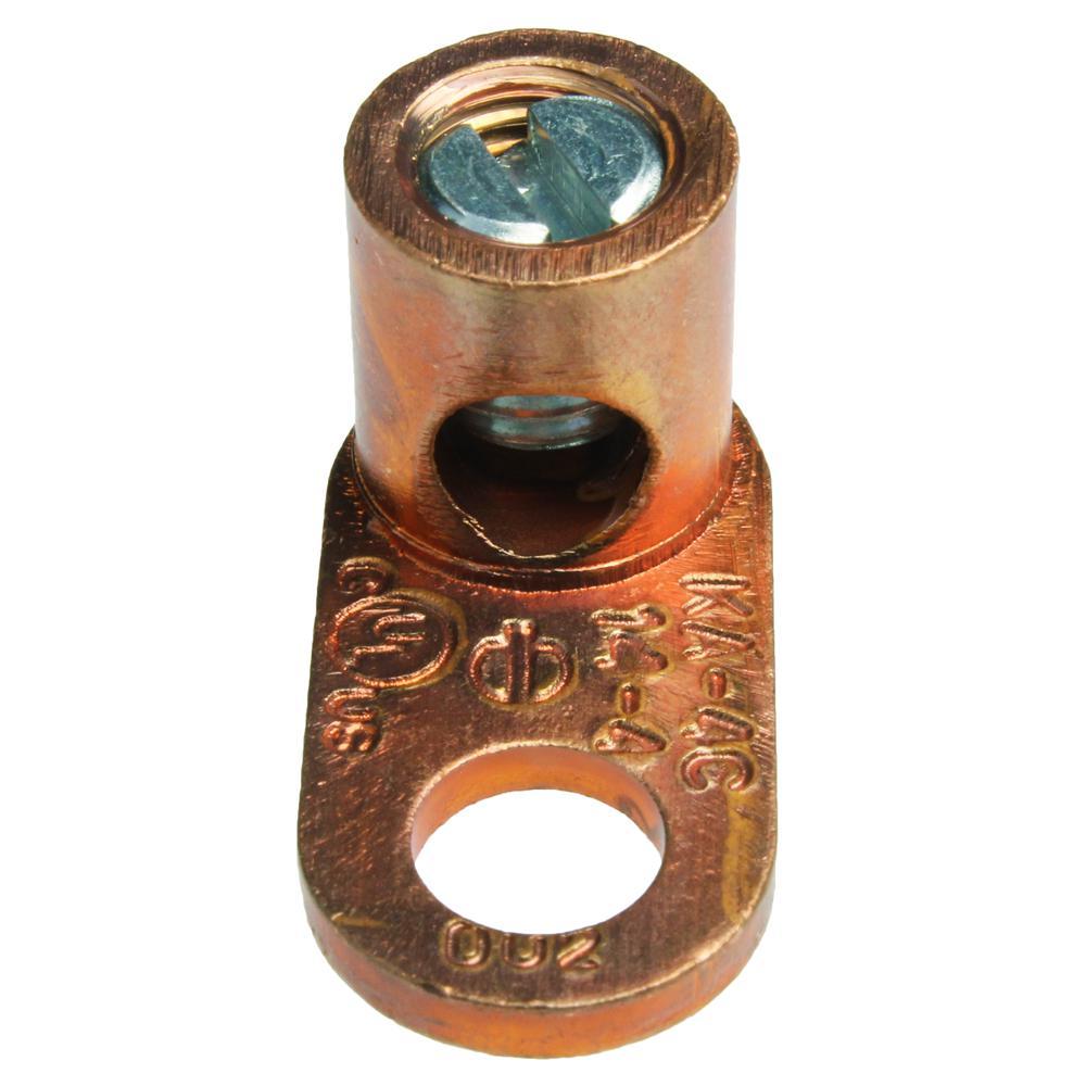 14-4 AWG Copper Mechanical Lug (5-Pack of 2)