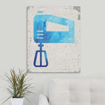 """Kitchen Brights - Egg Beater"" by Melody Hogan Canvas Wall Art"