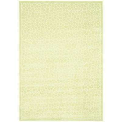 Reptilian Cream 3 ft. x 4 ft. Area Rug