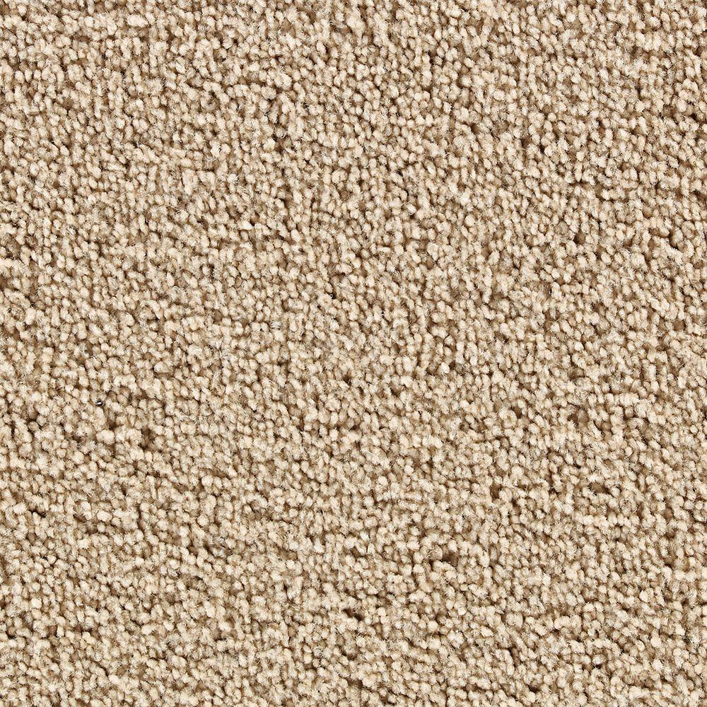 Martha Stewart Living Boldt Castle Brown Alpaca - 6 in. x 9 in. Take Home Carpet Sample-DISCONTINUED