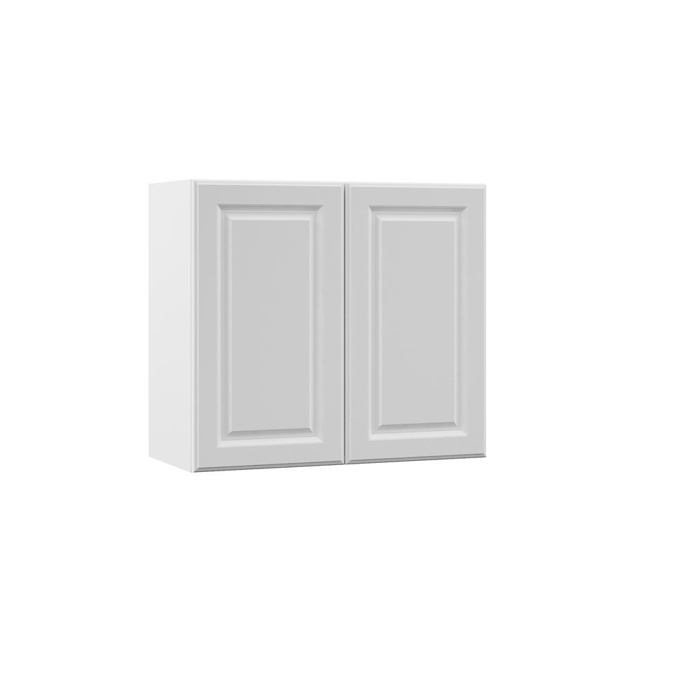 Elgin Assembled 27x24x12 in. Wall Kitchen Cabinet in White