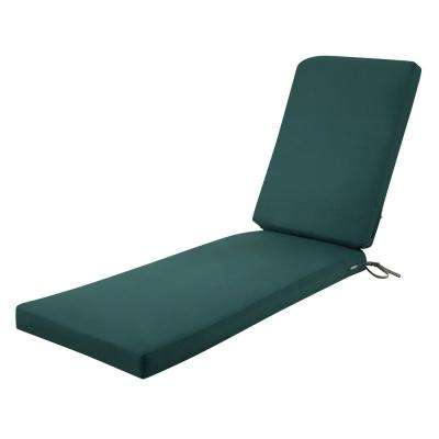 Ravenna Mallard Green 72 in. L x 21 in. W x 3 in. Thick Outdoor Chaise Lounge Cushion