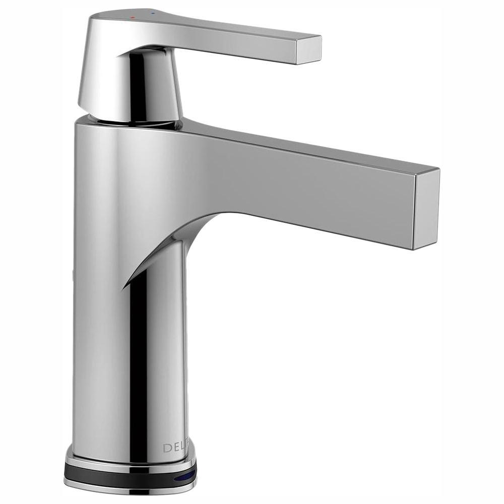 Zura Single Hole Single-Handle Bathroom Faucet with Touch2O.xt Technology in Chrome