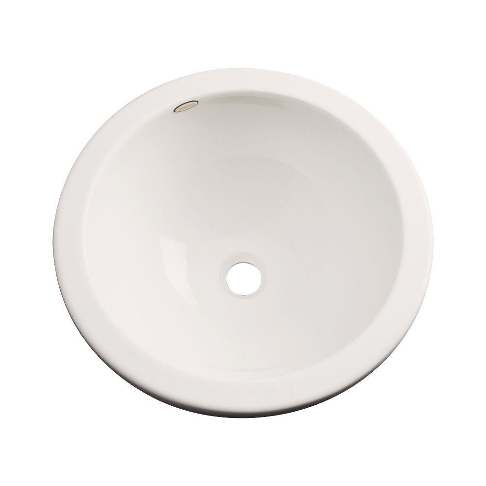 Thermocast Calio Undermount Bathroom Sink in Almond