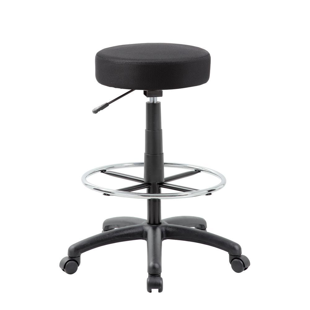 The DOT Black drafting stool