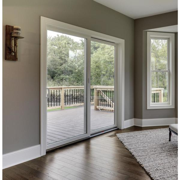 Andersen 70 1 2 In X 79 1 2 In 200 Series Right Hand Perma Shield Gliding Patio Door With Orb Hardware 9174177 The Home Depot