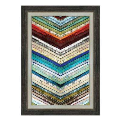 """Going Down"" by Ruth Palmer Framed Canvas Wall Art"